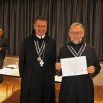 Aufnahme von Pater Dr. Augustinus Weber OSB in die Sectio Theologica