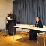 Jahresüberblick zur Sectio Philosophica durch Dekan Abt Johannes Schaber OSB (Ottobeuren)